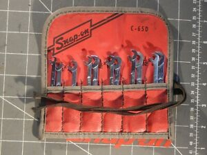 Read Snap On 8pc Short Midget 4 Way Ignition Wrench Set 15 64 3 8 3 16 5 32
