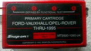 Primary Cartridge For Snapon Mt2500 Scanner Ford vaux opel rover Mt2500 1095 uk