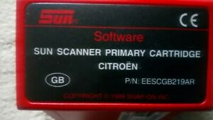 Primary Cartridge Snap On Mt2500 Scanner Cartridge Eescgb219ar