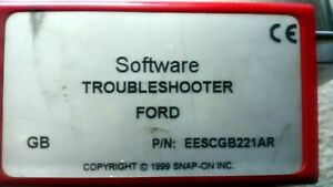 Software Trouble Shooter Snap On Mt2500 Scanner Cartridge Eescgb221ar