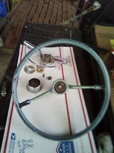 1965 1966 Chevy Impala Blue Steering Wheel 65 66 16 Inch