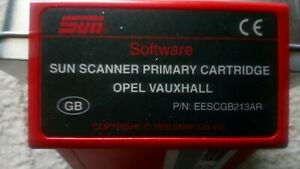 Primary Cartridge Vauxhall opel For Snap On Mt2500 Scanner Eescgb213ar