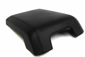 Fits 11 16 Ford F250 Super Duty Center Console Lid Fits Cover Skin Leather Black