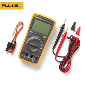 Fluke 17b Auto Range Digital Probe Multimeter Meter Temperature Frequency New