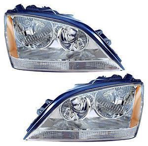 For 2005 2006 Kia Sorento Headlights Pair Set