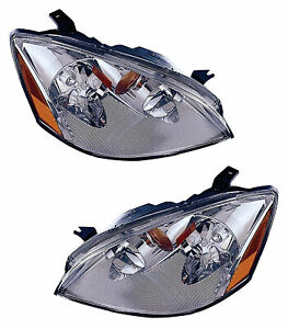 For 2002 2003 2004 Nissan Altima Hid Headlights Pair Set
