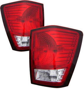 For 2007 2008 2009 2010 Jeep Grand Cherokee Tail Lights Pair Set