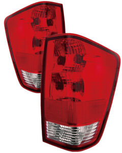 For 2004 2013 Nissan Titan Tail Lights Pair Set