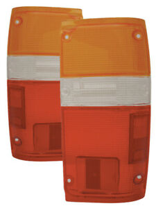 For 1984 1988 Toyota Pickup Truck 2 4wd 4runner Tail Lights Pair Set