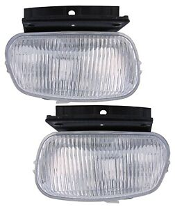 For 1998 1999 2000 Ford Ranger Front Fog Lights Pair Set