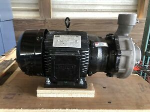 Dayton 12a063 Stainless Steel 3 Hp Centrifugal Pump 208 230 460v New Open Box
