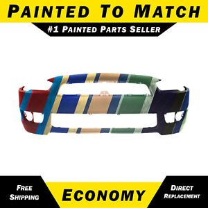 New Painted To Match Front Bumper Cover Fascia For 2008 2015 Mitsubishi Lancer