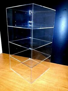305displays 12 X 12 X 23 Without Door Showcase Acrylic Countertop Display Case