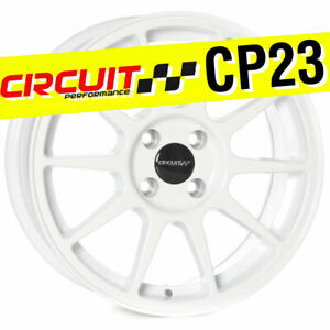 Circuit Performance Cp23 16x7 4 100 35 Gloss White Wheels Rims Type R Style