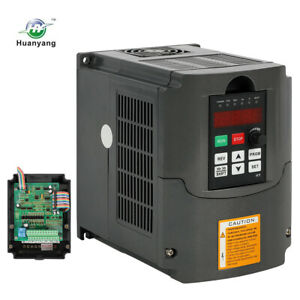 4kw 220v 5hp Variable Frequency Drive Inverter Cnc Vfd Vsd Single To 3 Phase