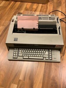 Ibm Wheelwriter 6 Series Electric Typewriter