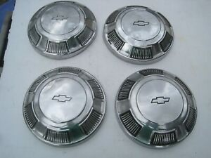Chevy Car Dog Dish Hubcaps Impala biscayne bel Air oem 1968 1969 1970 1971 1972