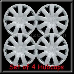 2005 2006 15 Chrome Toyota Camry Hubcaps Replica Camry Wheel Covers Set Of 4