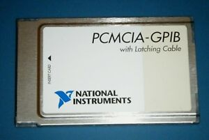 Ni Pcmcia gpib Card latching Gpib Controller National Instruments tested