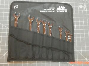 Mac 8 Of 10pc Metric Knuckle Saver Wrench Set 10mm 19mm 6pt 6 Point Smhb10ks