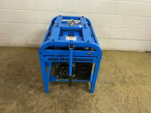 Pacific Equipment 8500 High Performance Gas Single Phase Generator Tested