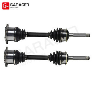 Pair Cv Joint Axle Assembly Front For Toyota T100 Pickup 2 7l 3 0l 6 Cyl W o Abs