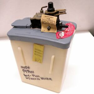 Nos 59 61 Chevy Automatic Windshield Washer Vacuum Pump jar Rare Trico Aw 20 6