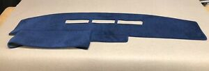 1988 1989 1990 1991 1992 1993 1994 Chevy Silverado Dash Cover Navy Blue Velour