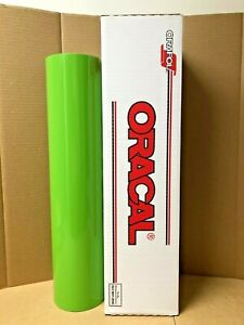 Oracal 651 1 Roll 24 X 50yd 150ft Lime tree Green 063 Gloss Sign Vinyl