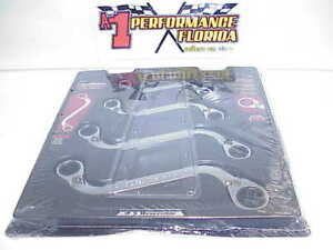 New Gearwrench 4 Pc 12 Point Reversible S Shape Box Ratcheting Sae Wrench Set