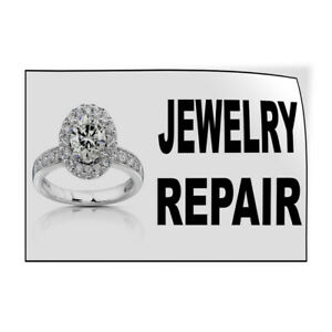 Decal Stickers Jewelry Repair Business Vinyl Store Sign Label