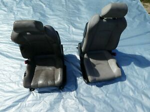 03 To 06 Nissan 350z Convertible Front Seats Leather Oem Hot Rod Rat Rod