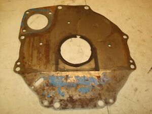 1966 Ford 4000 Tractor Rear Engine Plate