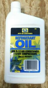 Quest 490 R12 Refrigerant Mineral Oil 500 S S Viscosity 32 Ounce Bottle