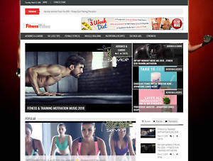 Turnkey Fitness Video Tutorial Website Script Make 100 A Day Autopilot Income