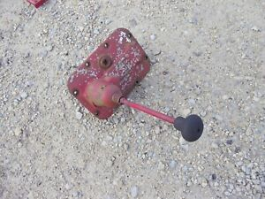 Farmall B Bn Tractor Ih Transmission Gear Shifter Tower Early 1939 40 Model