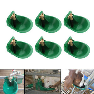 6x Automatic Water Drinker Waterer For Sheep Pig Animal Livestock Supplies