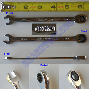 New Snap On 12 Pts 9mm Metric 0 Offset Ratcheting Combination Wrench Oxrm9