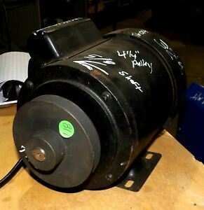 Powermatic 62961261 Hp Jointer Motor Fits 54aa And 54 Hh 115 230 With Pulley