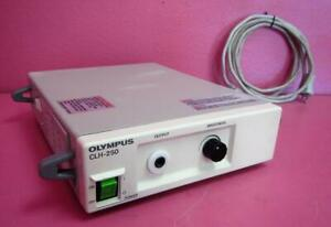 Olympus Clh 250 Halogen Endoscopic Surgical Headlight Light Source 250 Watts