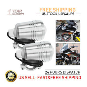 2pcs 30w Led Spotlight Headlight Work Light Driving Fog Spot Lamp Universal