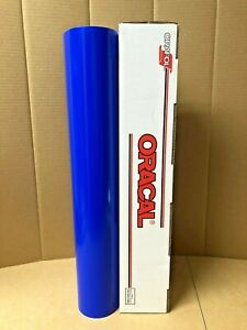 Oracal 651 1 Roll 24 X 10yd 30ft Brilliant Blue 086 Gloss Sign Vinyl