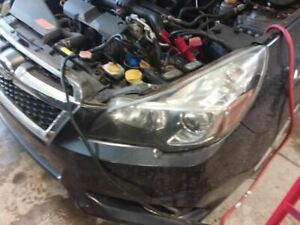 13 14 Subaru Legacy Driver Headlight Black Inner Accent 1522604