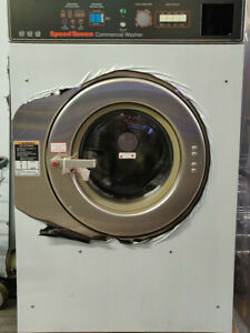 Sc30my 30 Lb Speed Queen Laundromat Washing Machine 220v 3ph New