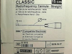 St Jude Medical Classic Radiofrequency Cannula In Date 9 2021 Bx 10