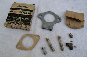 1934 To 1953 Ford Gm Mopar South Wind Heater Vacuum Installation Kit 47 Nib