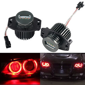 Fits For Bmw E90 E91 3 Series 20w Red Led Angel Eyes Halo Ring Marker Light Bulb