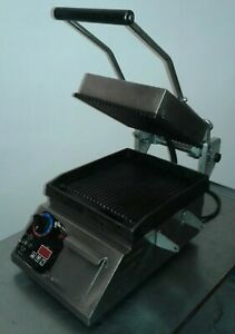 Star Pro max Cg10it 10 Commercial Grooved Two sided Panini Press W Timer 2