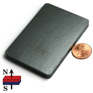 Strong Ceramic Therapy Magnets C8 3 X 2 X 1 4 Ferrite Magnets