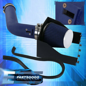 For 2007 2014 Ford Expedition 5 4l Air Intake Induction Heat Shield Blue Pipe